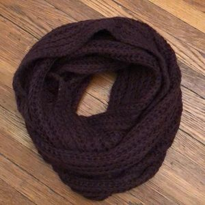 Purple Infinity Scarf (forever21)